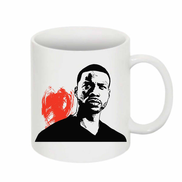 Jay Rock 11 0Z Ceramic White Mug // Babes & Gents // www.babesngents.com