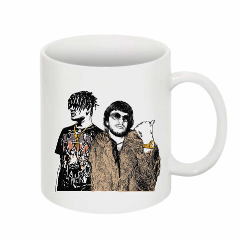 Murda Beatz and Smokepurpp 11 0Z Ceramic White Mug