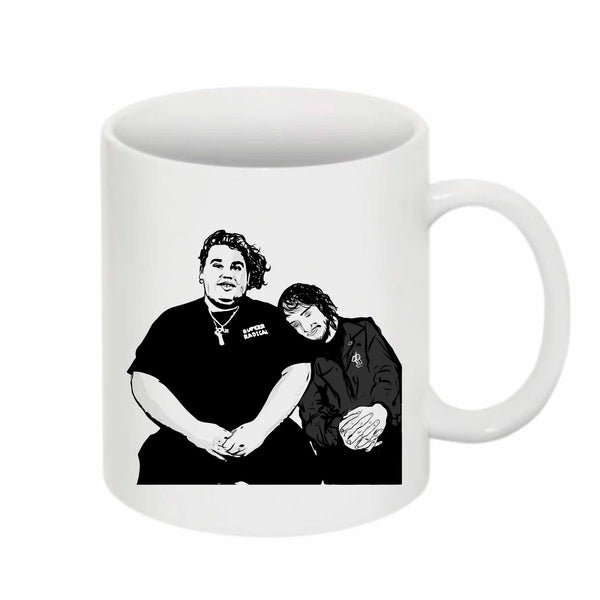 Pouya Fat Nick 11 0Z Ceramic White Mug // Babes & Gents // www.babesngents.com