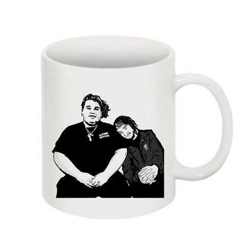 Pouya Fat Nick 11 0Z Ceramic White Mug