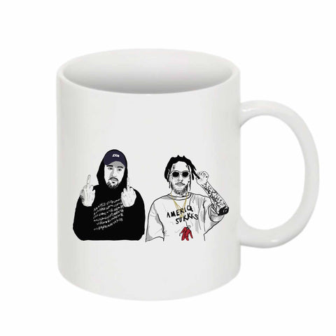 $uicideboy$ Suicide Boys 11 0Z Ceramic White Mug