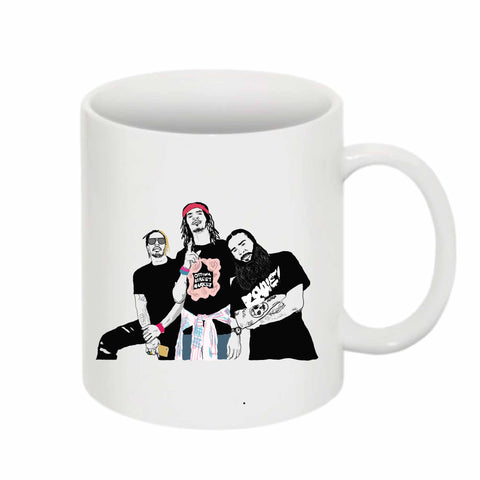 Flatbush Zombies 11 0Z Ceramic White Mug