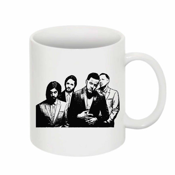 Imagine Dragons 11 0Z Ceramic White Mug // Babes & Gents // www.babesngents.com