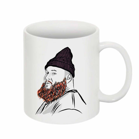 Action Bronson 11 0Z Ceramic White Mug