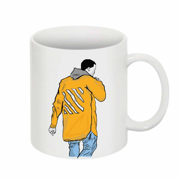 Kanye West Yeezy in Off White 11 0Z Ceramic White Mug // Babes & Gents // www.babesngents.com