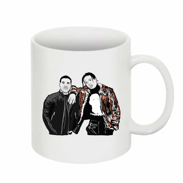 ASAP Rocky and ASAP Ferg A$AP 11 0Z Ceramic White Mug // Babes & Gents // www.babesngents.com