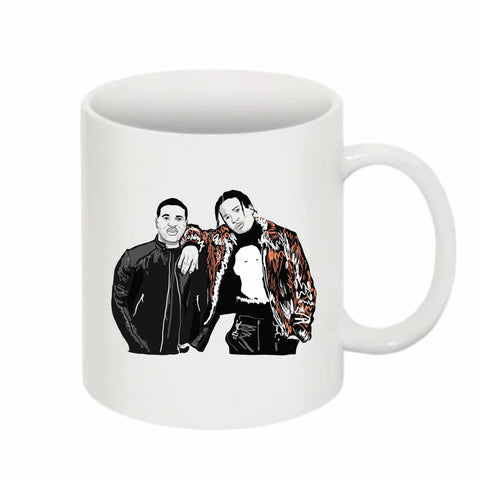 ASAP Rocky and ASAP Ferg A$AP 11 0Z Ceramic White Mug