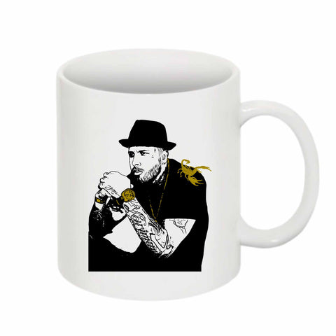 Nicky Jam 11 0Z Ceramic White Mug