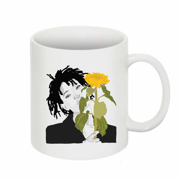 Willow Smith 11 0Z Ceramic White Mug // Babes & Gents // www.babesngents.com