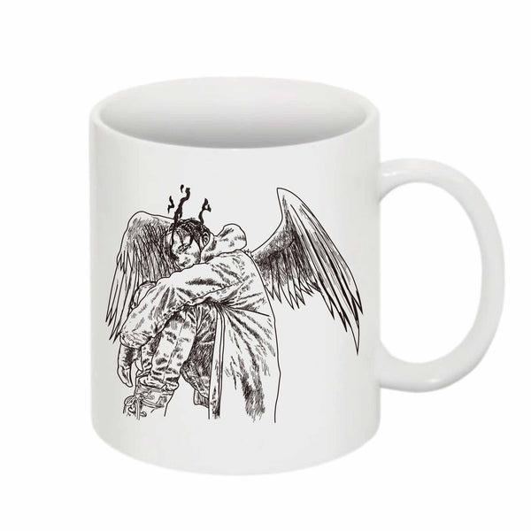 Travis Scott Birds in the Trap Sing McKnight 11 0Z Ceramic White Mug // Babes & Gents // www.babesngents.com