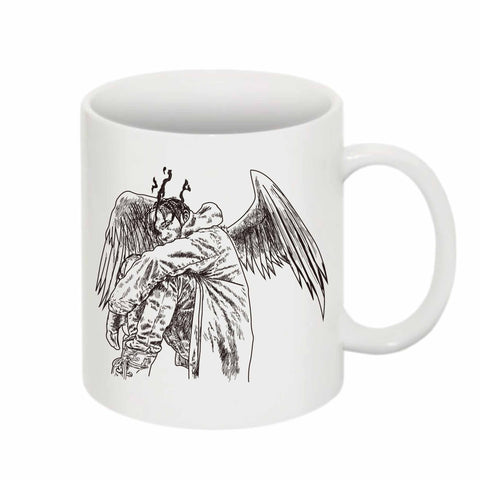 Travis Scott Birds in the Trap Sing McKnight 11 0Z Ceramic White Mug