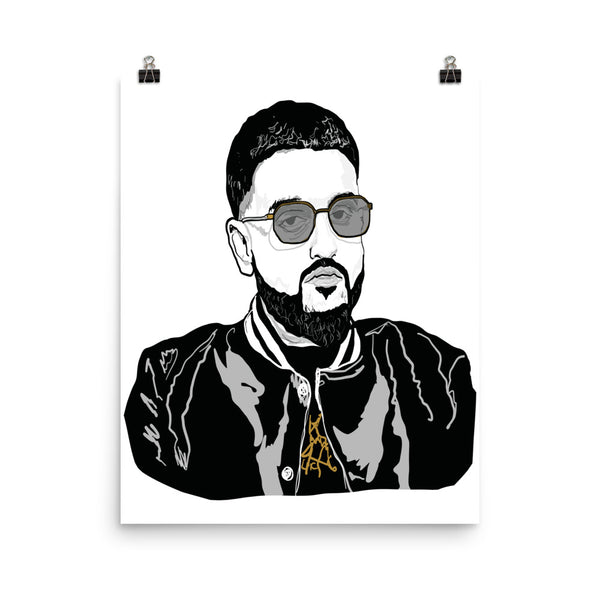 Nav Art Poster (6 sizes) // Babes & Gents // www.babesngents.com