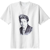 Niall Horan One Direction 1D White Tee (Unisex) // Babes & Gents // www.babesngents.com