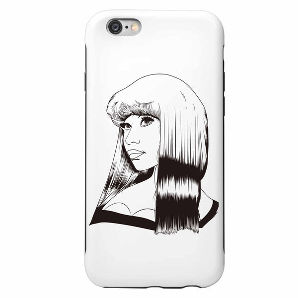Nicki Minaj Apple IPhone 4 5 5s 6 6s Plus Galaxy Case // Pink Print anaconda truffle butter // Babes & Gents // www.babesngents.com