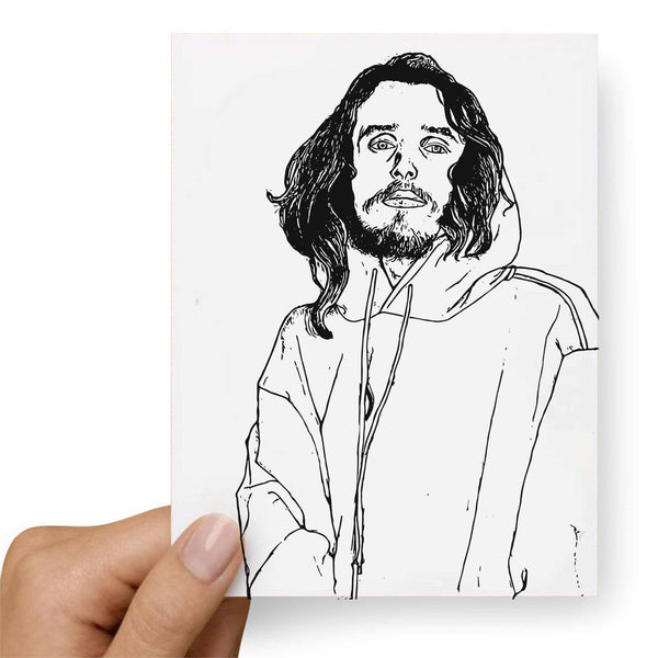Pouya Postcard // Babes & Gents //  www.babesngents.com