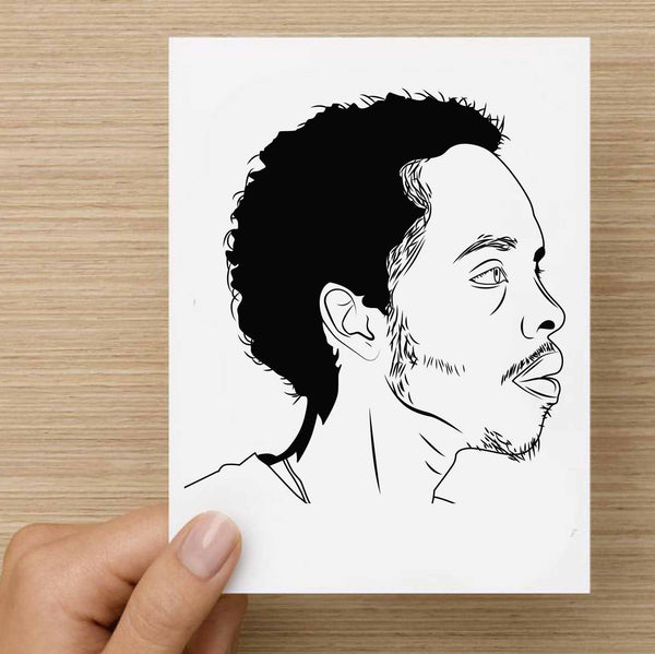 Earl Sweatshirt Valentines / Anniversary / Birthday / Christmas Card // Babes & Gents //  www.babesngents.com