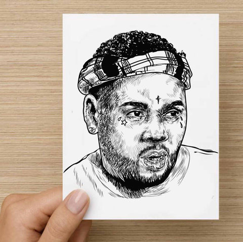 Kevin Gates BWA Valentines / Anniversary / Birthday / Christmas Card