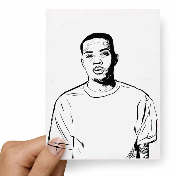 G Herbo GHerbo Postcard // Babes & Gents //  www.babesngents.com