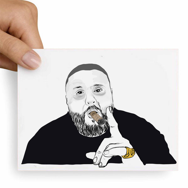 DJ Khaled Valentines / Anniversary / Birthday / Christmas Card // Babes & Gents //  www.babesngents.com