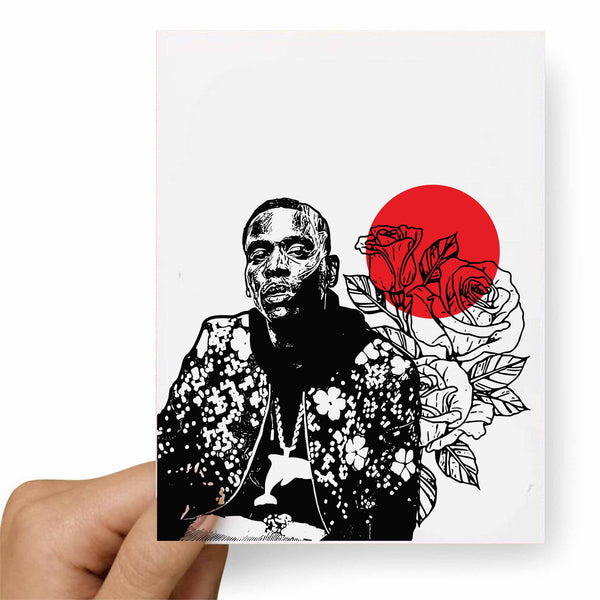 Young Dolph Valentines / Anniversary / Birthday / Christmas Card // Babes & Gents // www.babesngents.com