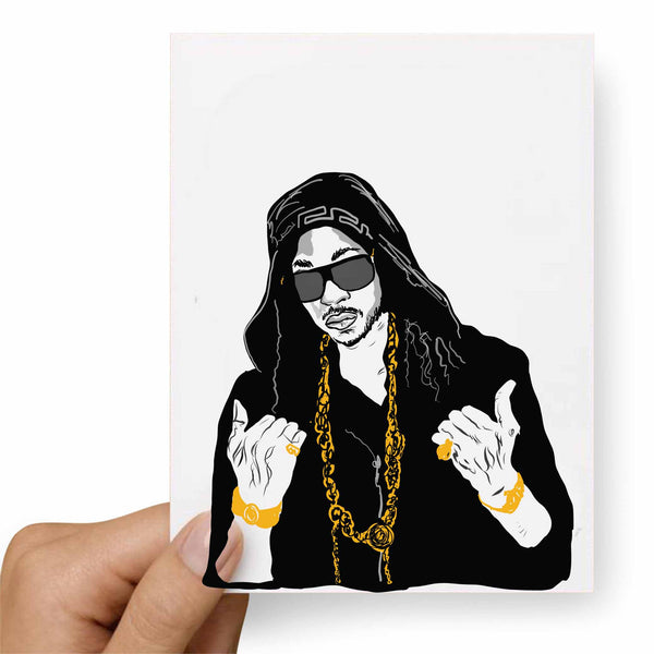 2 Chainz Valentines / Anniversary / Birthday / Christmas Card // Babes & Gents // www.babesngents.com