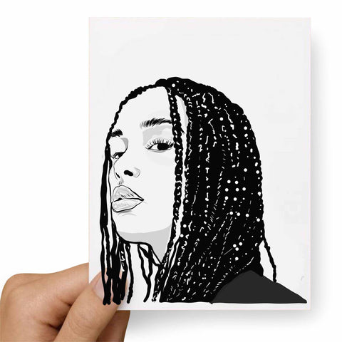 Jorja Smith Postcard