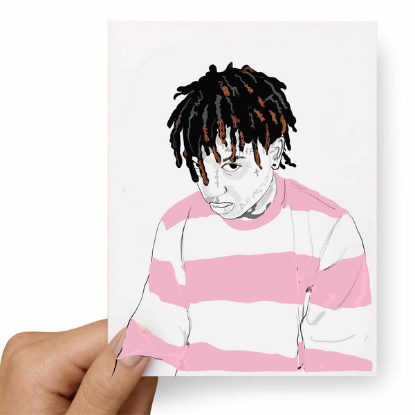Ski Mask The Slump God Valentines / Anniversary / Birthday / Christmas Card // Babes & Gents // www.babesngents.com