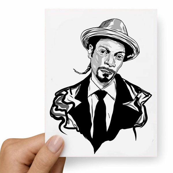 Snoop Dogg Valentines / Anniversary / Birthday / Christmas Card // Babes & Gents // www.babesngents.com