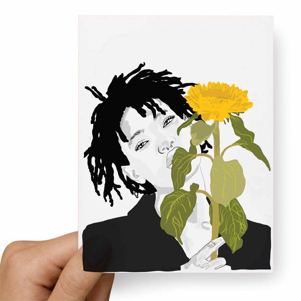 Willow Smith Valentines / Anniversary / Birthday / Christmas Card // Babes & Gents // www.babesngents.com