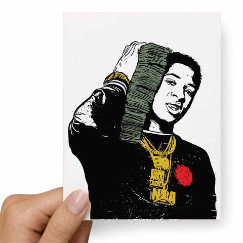 YoungBoy Never Broke Again Postcard