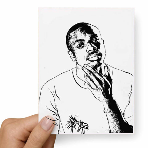 Vince Staples Postcard