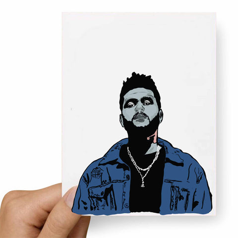 The Weeknd Postcard
