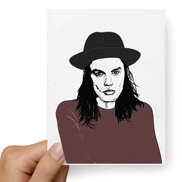 James Bay Valentines / Anniversary / Birthday / Christmas Card // Babes & Gents //  www.babesngents.com