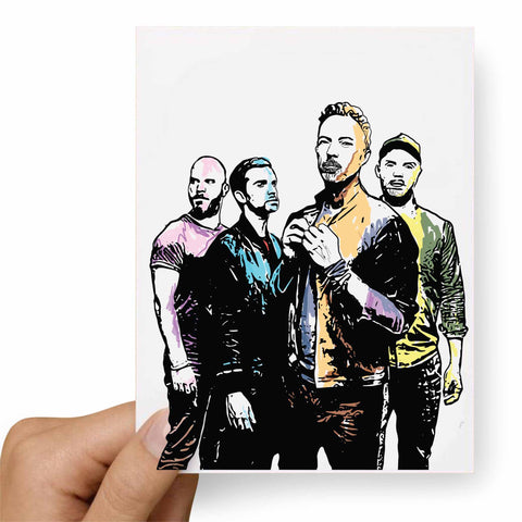 Coldplay 2 Postcard