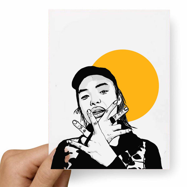 Keith Ape Valentines / Anniversary / Birthday / Christmas Card // Babes & Gents //  www.babesngents.com