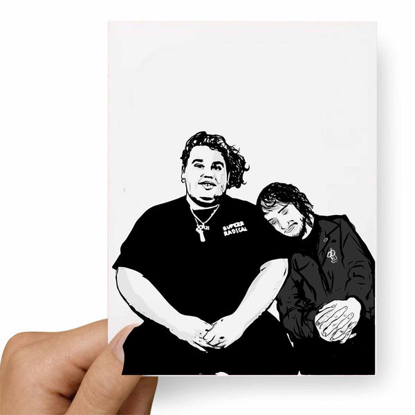 Pouya Fat Nick Valentines / Anniversary / Birthday / Christmas Card // Babes & Gents //  www.babesngents.com