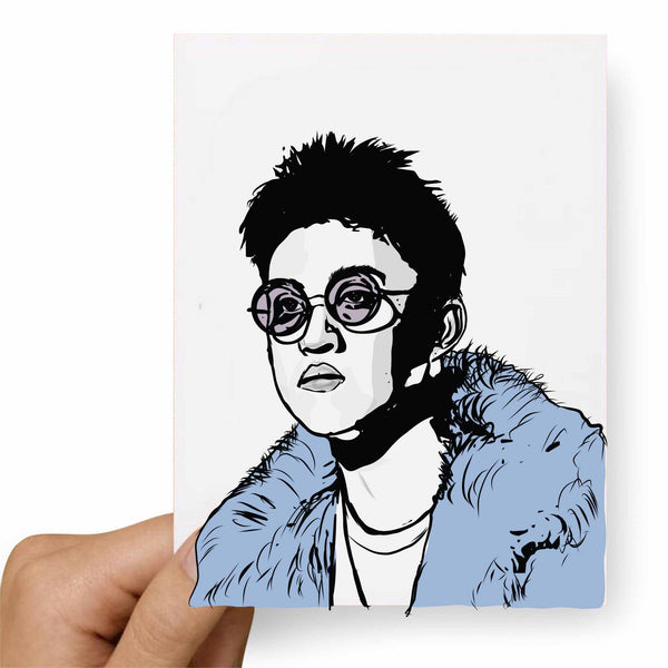 Rich Chigga Rich Brian Valentines / Anniversary / Birthday / Christmas Card // Babes & Gents //  www.babesngents.com
