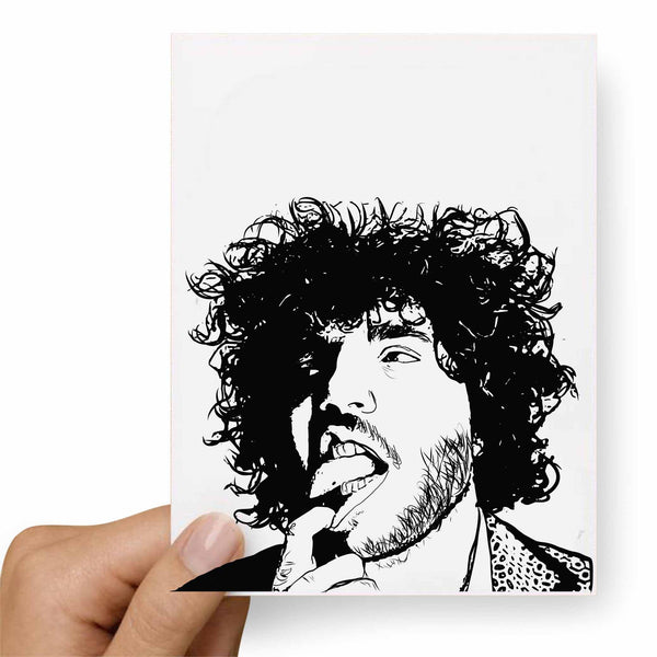 Benny Blanco Postcard // Babes & Gents //  www.babesngents.com