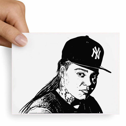 Young M.A. Postcard