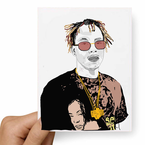 Rich the Kid Valentines / Anniversary / Birthday / Christmas Card
