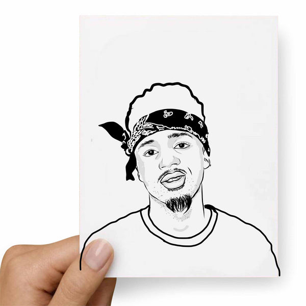 Metro Boomin Valentines / Anniversary / Birthday / Christmas Card // Babes & Gents // www.babesngents.com