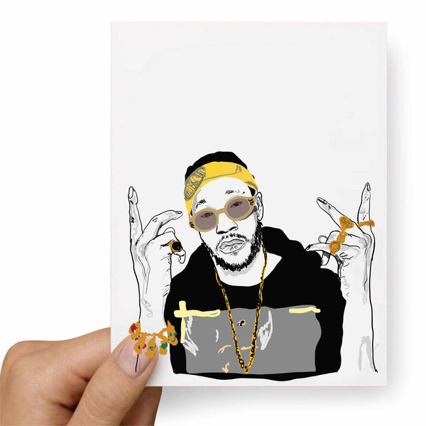 2 Chainz two Valentines / Anniversary / Birthday / Christmas Card // Babes & Gents // www.babesngents.com