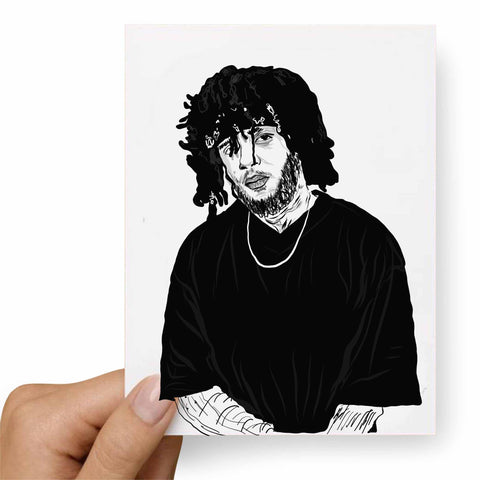 6LACK Valentines / Anniversary / Birthday / Christmas Card