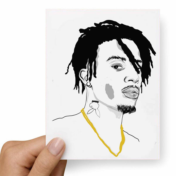 Playboi Carti Valentines / Anniversary / Birthday / Christmas Card // Babes & Gents //  www.babesngents.com