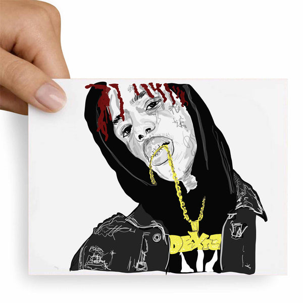 Famous Dex Valentines / Anniversary / Birthday / Christmas Card // Babes & Gents // www.babesngents.com