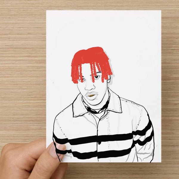 Lil Yachty Valentines / Anniversary / Birthday / Christmas Card // Babes & Gents //  www.babesngents.com