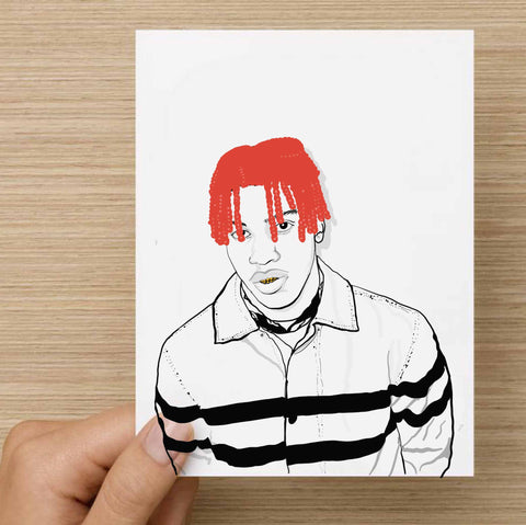 Lil Yachty Valentines / Anniversary / Birthday / Christmas Card