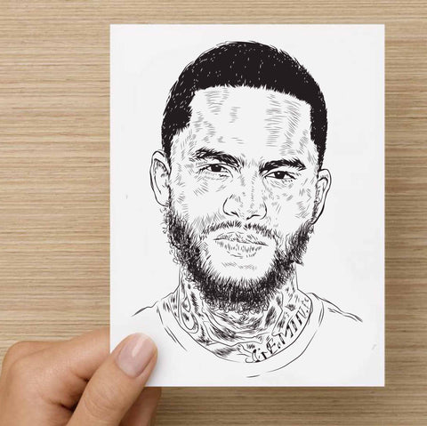 Dave East Valentines / Anniversary / Birthday / Christmas Card