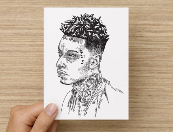 21 Savage mode Valentines / Anniversary / Birthday / Christmas Card