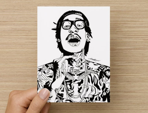Wiz Khalifa Postcard // see u again we dem boyz king of everything taylor gang